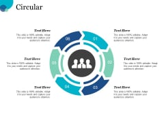 Circular Process Ppt PowerPoint Presentation Gallery Guidelines