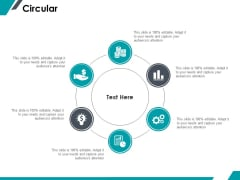 Circular Process Ppt PowerPoint Presentation Infographics Gridlines