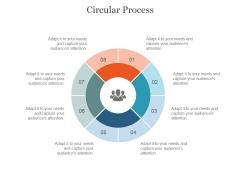 Circular Process Ppt PowerPoint Presentation Microsoft