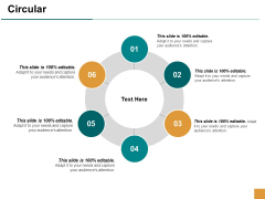 Circular Six Year Process Ppt Powerpoint Presentation Layouts Design Ideas