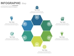 Circular Steps And Icons For Formation Powerpoint Template