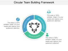 Circular Team Building Framework Ppt PowerPoint Presentation File Tips PDF