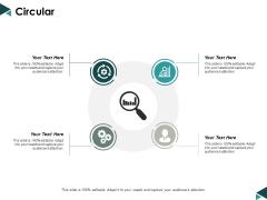 Circular Technology Marketing Ppt Powerpoint Presentation Slides Shapes