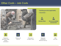 Civil Building Construction Proposal Other Costs Job Costs Background PDF