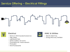 Civil Building Construction Proposal Service Offering Electrical Fittings Structure PDF