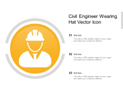 Civil Engineer Wearing Hat Vector Icon Ppt PowerPoint Presentation File Objects PDF