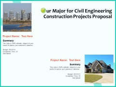 Civil Engineering Consulting Services Our Major For Civil Engineering Construction Projects Proposal Rules PDF
