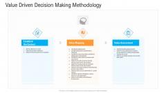 Civil Infrastructure Designing Services Management Value Driven Decision Making Methodology Structure PDF