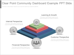 Clear Point Community Dashboard Example Ppt Slide
