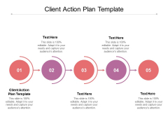 Client Action Plan Template Ppt PowerPoint Presentation Portfolio Background Cpb