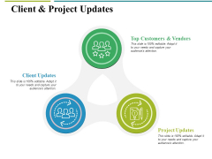 Client And Project Updates Ppt PowerPoint Presentation Show