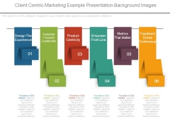 Client Centric Marketing Example Presentation Background Images