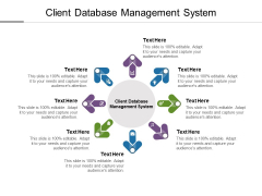 Client Database Management System Ppt PowerPoint Presentation Show Designs Download Cpb