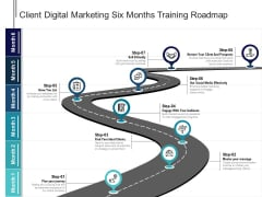 Client Digital Marketing Six Months Training Roadmap Elements