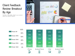 Client Feedback Review Breakout By Age Ppt PowerPoint Presentation Slides Aids PDF