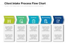 Client Intake Process Flow Chart Ppt PowerPoint Presentation File Background PDF