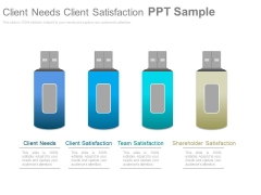 Client Needs Client Satisfaction Ppt Sample