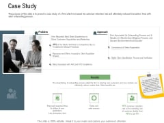 Client Onboarding Framework Case Study Designs PDF