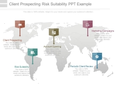 Client Prospecting Risk Suitability Ppt Example
