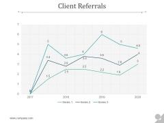 Client Referrals Ppt PowerPoint Presentation Background Image