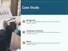Client Relationship Administration Proposal Template Case Study Structure PDF