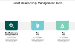 Client Relationship Management Tools Ppt PowerPoint Presentation Pictures Example File Cpb