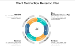 Client Satisfaction Retention Plan Ppt PowerPoint Presentation Model Graphics Example Cpb