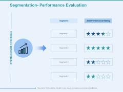 Client Segmentation Analysis Segmentation Performance Evaluation Ppt Infographic Template Example Topics PDF