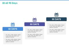 Client Specific Progress Assessment 30 60 90 Days Ppt Outline Ideas PDF