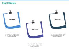 Client Specific Progress Assessment Post It Notes Ppt File Show PDF