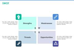 Client Specific Progress Assessment SWOT Ppt Show Icon PDF