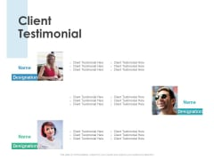 Client Testimonial Business Ppt PowerPoint Presentation Inspiration Clipart Images
