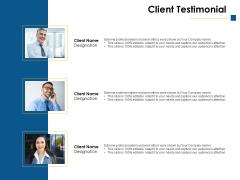 Client Testimonial Ppt PowerPoint Presentation Ideas Professional