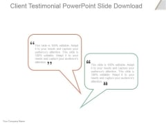 Client Testimonial Ppt PowerPoint Presentation Tips