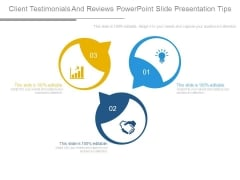 Client Testimonials And Reviews Powerpoint Slide Presentation Tips