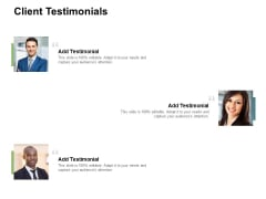 Client Testimonials Communication Ppt PowerPoint Presentation Styles Elements