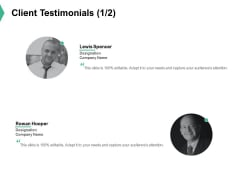 Client Testimonials Communication Ppt PowerPoint Presentation Styles Introduction