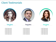 Client Testimonials Introduction Ppt PowerPoint Presentation Styles Graphics Pictures
