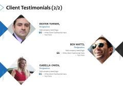 Client Testimonials Management Ppt PowerPoint Presentation Visual Aids Gallery