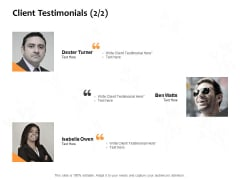 Client Testimonials Planning Ppt PowerPoint Presentation Visual Aids Outline