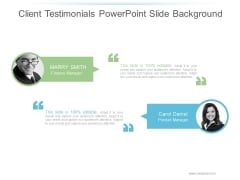 Client Testimonials Ppt PowerPoint Presentation Files