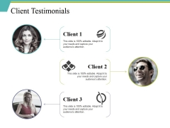 Client Testimonials Ppt PowerPoint Presentation Layouts Show