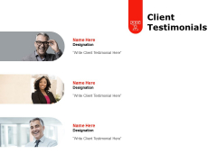 Client Testimonials Ppt PowerPoint Presentation Professional Graphics