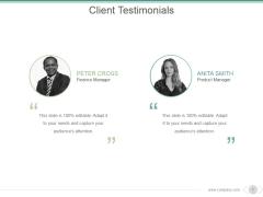Client Testimonials Ppt PowerPoint Presentation Styles