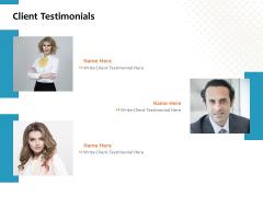 Client Testimonials Ppt PowerPoint Presentation Templates