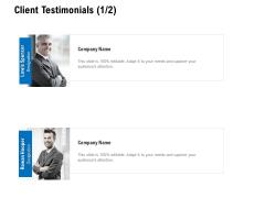 Client Testimonials Teamwork Ppt PowerPoint Presentation File Slide Download