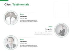 Client Testimonials Teamwork Ppt PowerPoint Presentation Slides Ideas