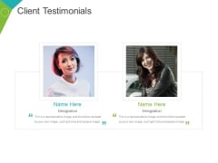 Client Testimonials Template 3 Ppt PowerPoint Presentation File Inspiration