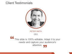 client testimonials template 3 ppt powerpoint presentation layouts structure