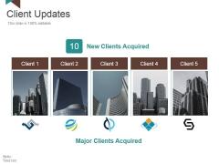 Client Updates Ppt PowerPoint Presentation Outline Slideshow